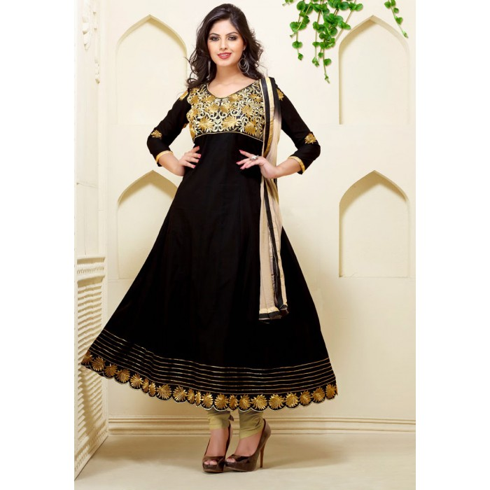 Black anarkali dresses images