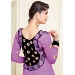 Violet Anarkali Suit