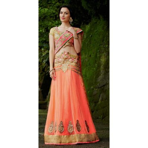 Safran Designer Saree