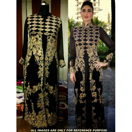 Kareena Black Designer Suit